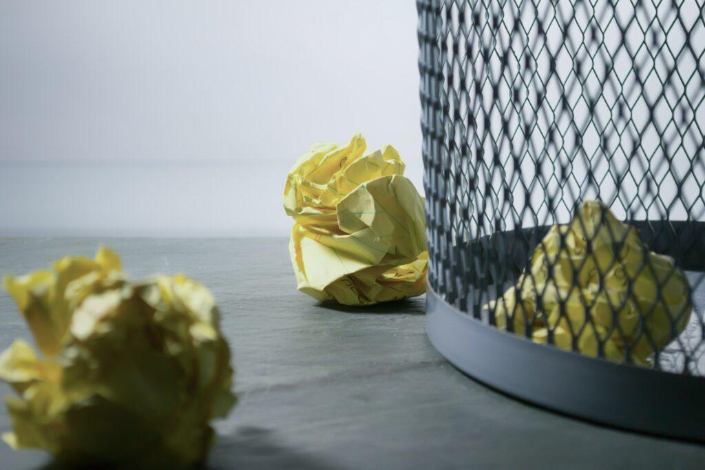 Nettoyage poubelle